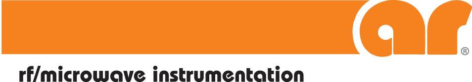 Silver Sponsor AR RF/Microwave Instrumentation