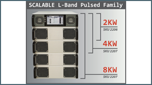 Industry First – Scalable Pulsed L Band High Power Amplifiers