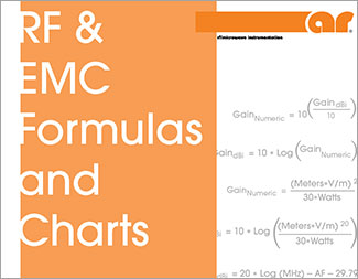 RF & EMC Formulas and Charts Poster